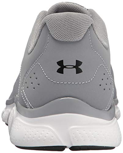 Under Armour Micro G Assert 7 Baskets pour homme, (Steel (100)/White), 46 EU