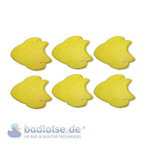 Anti-Rutsch-Pad f. Badewanne Dusche Duscheinlage Wanneneinlage Fische gelb