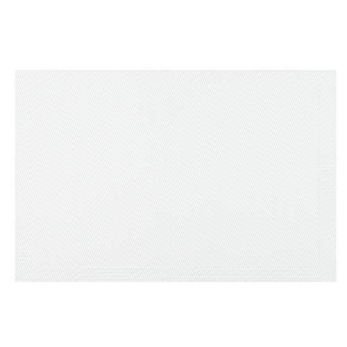 TAMAKI ランチョンマット 4個セット エッジライン ホワイト 縦30.0×横45.0cm T-925171