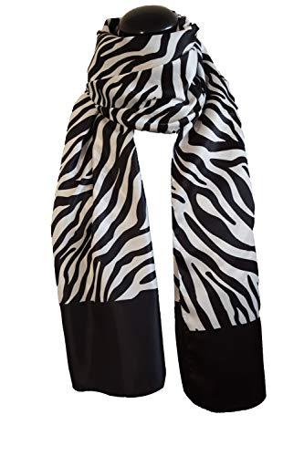 Satinstola Poly Dis 57622 Zebra-Muster + passende Schablone