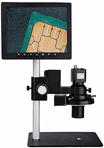 comprar mejor Microscopio de vídeo YUAN con panTalla LCD de 8 pulgadas pulgadas pulgadas y interfaz de TV (7x-50x)-220v  alta calidad