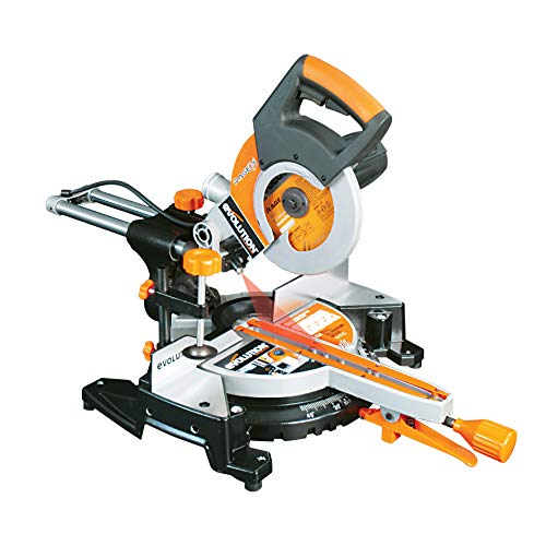 Evolution Power Tools RAGE3-S300 Multi-Purpose Sliding Mitre Saw with 300mm Slide Capacity, 210 mm (230V)