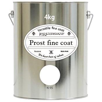 ペンキ 水性塗料 N-95 ピュアホワイト 4kg / 艶消し 壁 天井 壁紙 壁クロス ファインコート