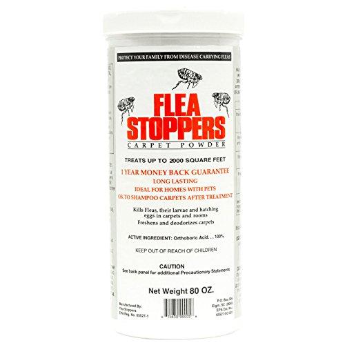 Flea Stoppers Carpet Powder
