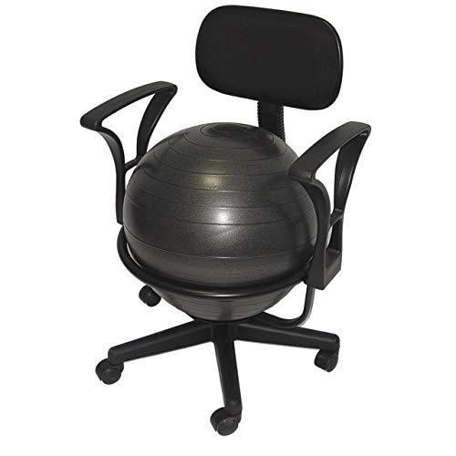 Aeromat Ball Chair Deluxe - Black