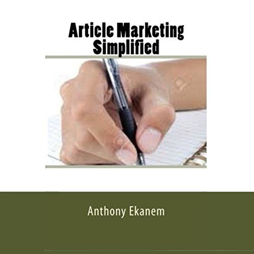Article Marketing Simplified audiobook cover art