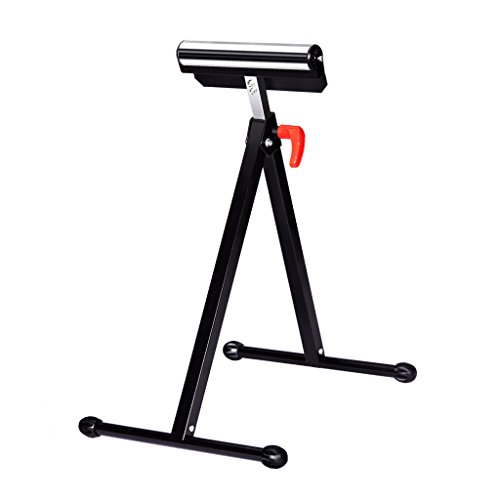 Finether Height Adjustable Folding Roller Stand, Pedestal with Ball Bearing...
