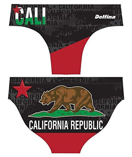 Delfina Fun Suit Men's Swim Briefs for Water Polo, California