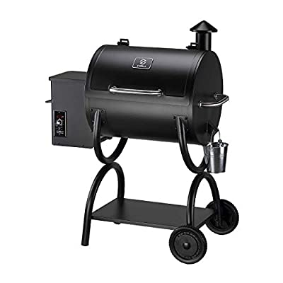 Z GRILLS Wood Pellet Grill BBQ Smoker 550A, 2020 Upgrade, 8-in-1