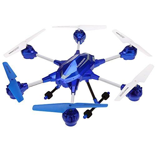 Goolsky HUAJUN W609-9 4.5CH 2.4 G con sei Axis Gyro RTF RC Super lega Hexacopter Drone(Middle Size) senza fotocamera