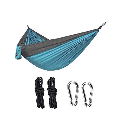 Segibuy Campinghangmat, draagbare lichte hangmat van nylon, de beste parachutehangmat voor rugzakken, camping, reizen, strand, erf