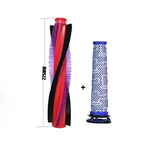 LICHIFIT Brosse principale + filtre pour aspirateur Dyson V6 Animal/Fluffy DC58 DC59 DC61 DC62 Pièces détachées Accessoires
