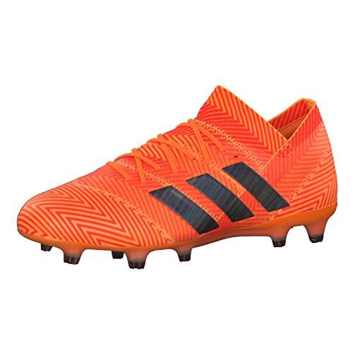adidas Herren Nemeziz 18.1 FG Fußballschuhe, Orange Orange Orange, 42 2/3 EU