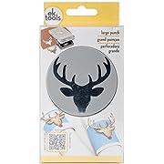 EK Tools Paper Punch, Large, Deer Head