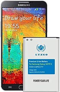 LTZGO batería Compatible con Samsung Galaxy Note 3 3400mAh Reemplazo de Batería Interna Corresponde a la batería EB-B800BE del Modelo Note 3 GT-N9000 GT-N9005 sin NFC