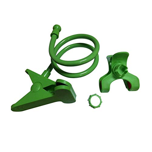 Amberzcy Universale Phone Holder Flessibile 360 ​​Clip del Supporto Mobile delle Cellule Pigro Bed Desktop Staffa del Basamento Staffa di Base (Color : Green)