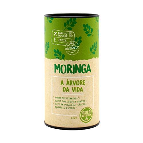 Gold Nutrition Moringa Superalimentos Polvo 125Gr. 0.125 125 g