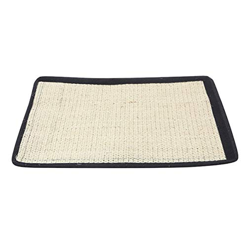 SunshineFace - Alfombrilla de sisal natural para gatos