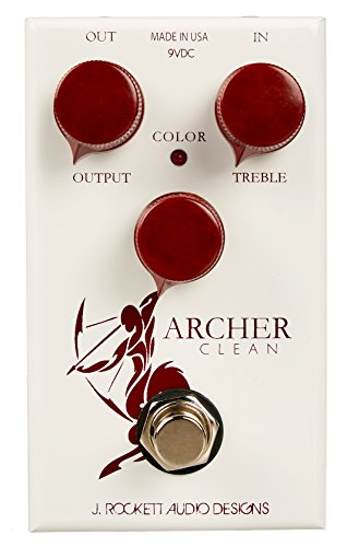 J. Rockett Audio Designs Tour Series Archer Clean Boost Guitar Effects Pedal