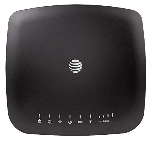 AT&T Wireless Internet WiFi Modem 4G LTE Home Base Router (Renewed)