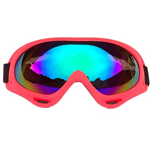 anruo Fietsbril mannen en vrouwen anti-condens volwassen winter skibril fiets motorbril mountainbike skateboard bril