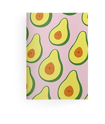 Happy Fruits 10,5x14,8 cm - GreenLine Booklet - 48 Seiten, Punktraster und blanko - Softcover - gebunden