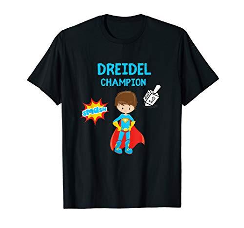 Boys Hanukah Dreidel Gelt Gift Top T-Shirt