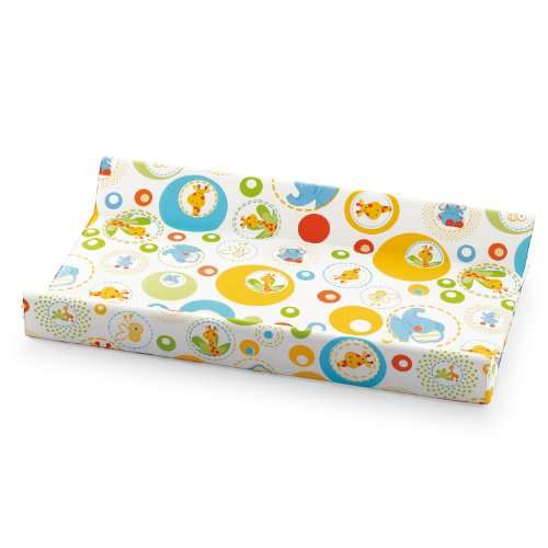 Pali 06590101 Gigi e Lele All Over - Materassino Fasciatoio Morbido con Tasca Unisex - Bambino, Multicolore (Gigi e Lele All Over), 81 x 49 x 9 cm