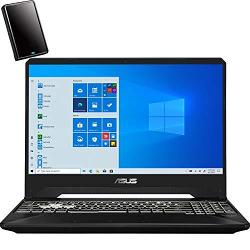 "2020 ASUS TUF 15.6"" FHD Gaming Laptop Computer, AMD Ryzen 5 3550H Quard-Core up to 3.7GHz, 8GB DDR4 RAM, 256GB PCIe SSD, AMD Radeon RX 560X 4GB, Backlit Keyboard, Windows 10, Black, YZAKKA MousePad"