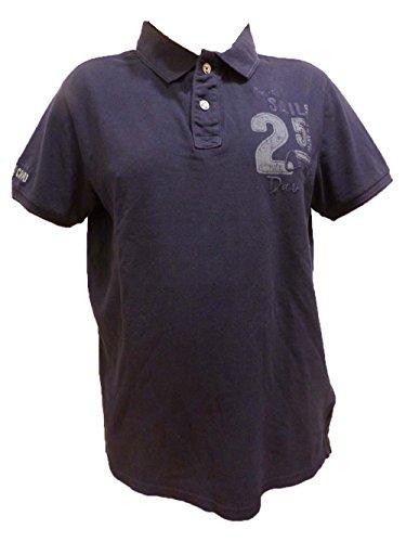 Camp David Polo Shirt Rough Waters IDARK Navy CCB-1706-3526 L XL XXL (L)