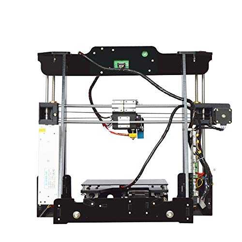 H.Y.BBYH Imprimante 3D P802M DIY 3D Printer Kit 220 * 220 * 240mm Format d'impression Soutien Off-Line Print 1.75mm 0.4mm Imprimante 3D