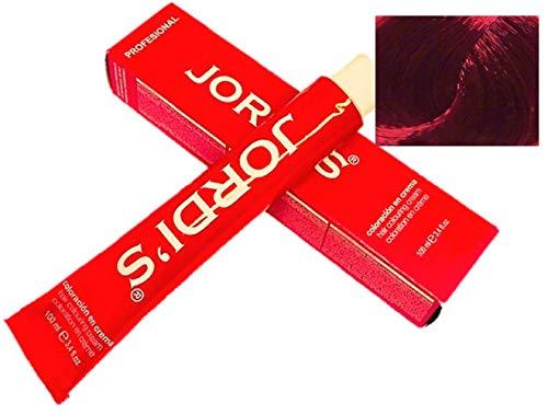 Matizador de mechas Profesionales color intenso y brillante - R+ Activador ROJO - Coloración en crema 100ml.
