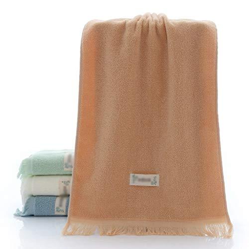 YWSZJ Toalla Creativa con Flecos de algodón Toalla de Limpieza Facial para el hogar para Adultos Toalla de SPA de algodón Estilo Pareja Toallas para el Cabello (Color : Brown)