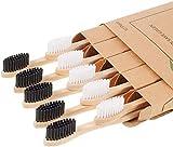 Bambus Zahnbürsten, 10 Pack Zahn...