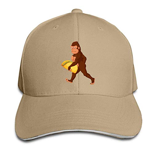 Tttyy Heat Wave Bigfoot Carrying Taco Unisex Adult Baseball Trucker Cap