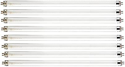 """Pack of 8 F14T5/841 14 watt 22.125"""" Straight F14 T5 Mini Bi-Pin (G5) Base, 4,100K Cool White Octron Fluorescent Tube Light..."""