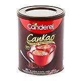 CANDEREL - Cankao sans aspartame – Poudre de Cacao – 31 % de Calories en moins - le Gout du Chocolat Sans sur ajouté – boîte 250 g