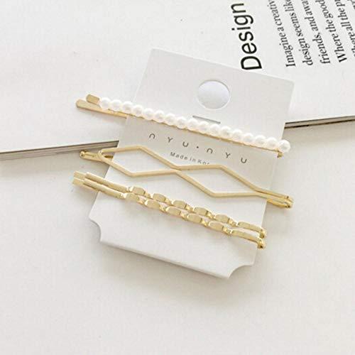 3-delig/set parels metaal haarspeld haarspeld accessoires haar styling haarspelden voor meisjes magische clips A2