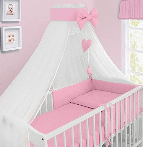 Baby Canopy Drape Mosquito NET with Holder to FIT COT & COT Bed New Designs...