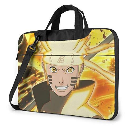Laptop Shoulder Messenger Bag, Japanese Anime Nar-uto Six Paths Sage Mode Cartoon Art Purse Bags Computer Carrying Case