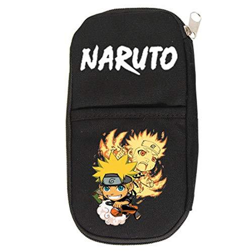SHU-B Naruto Estuche Cartuchera para Lapices Bolsa para Lapices Estuches Escolares Grandes Estuches Organizadores de Lapices para Niño