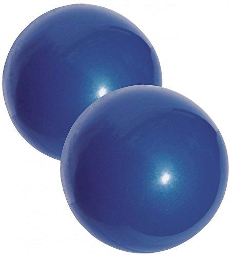Best Sport Weight, Palline da Peso, 2 x 450 g, Colore: Blu Unisex-Adulto