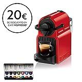 Krups XN1005 Nespresso Inissia - Cafetera monodosis de cápsulas Nespresso, 19 bares,...