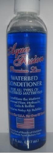 Premium 1 Bottle of 8 oz Clear Bottle Waterbed Conditioner for California King, Queen & Super Single Water Bed Mattresses