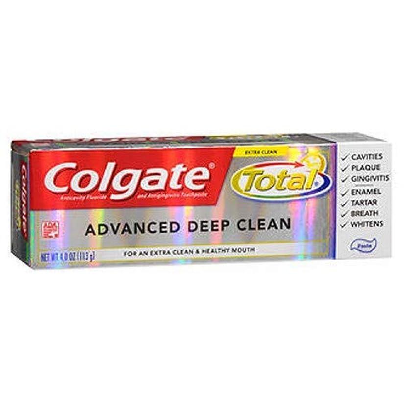 吐くモートインフラColgate 高度なクリーンプラスホワイトニング、貼り付け、4オンス