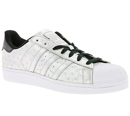 adidas Originals Superstar Sneaker Silver AQ4701, Size:42
