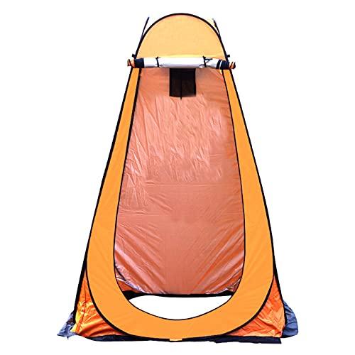 Qagazine Tienda emergente para ducha, privacidad, tienda de inodoro, ligera, resistente, cambiante, tienda de campaña, refugio de lluvia para acampar, playa