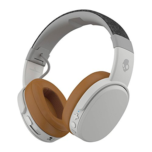 Skullcandy Crusher Wireless Over-Ear Headphone - Gray/Tan (S6CRW-K590)