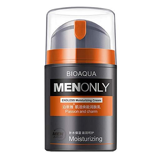 Filfeel Hombre Loción corporal revitalizante de crema facial, hidratante para hombres (50 g/ml)
