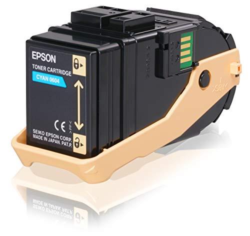 Epson C13S050604 - Cartucho de tóner para Epson AL-C9300N, cian